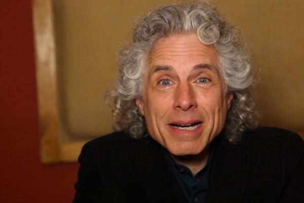 Harvard cognitive scientist Steven Pinker says our affection for music is tied to our use of language. (Photo: Flora Lichtman)